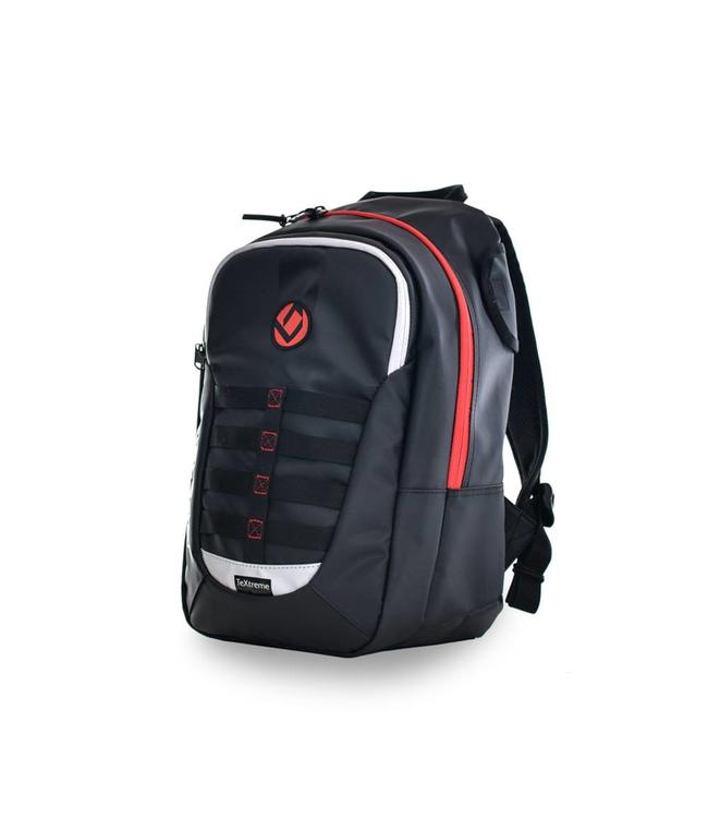 Brabo Backpack JR TeXtreme Zwart/Rood