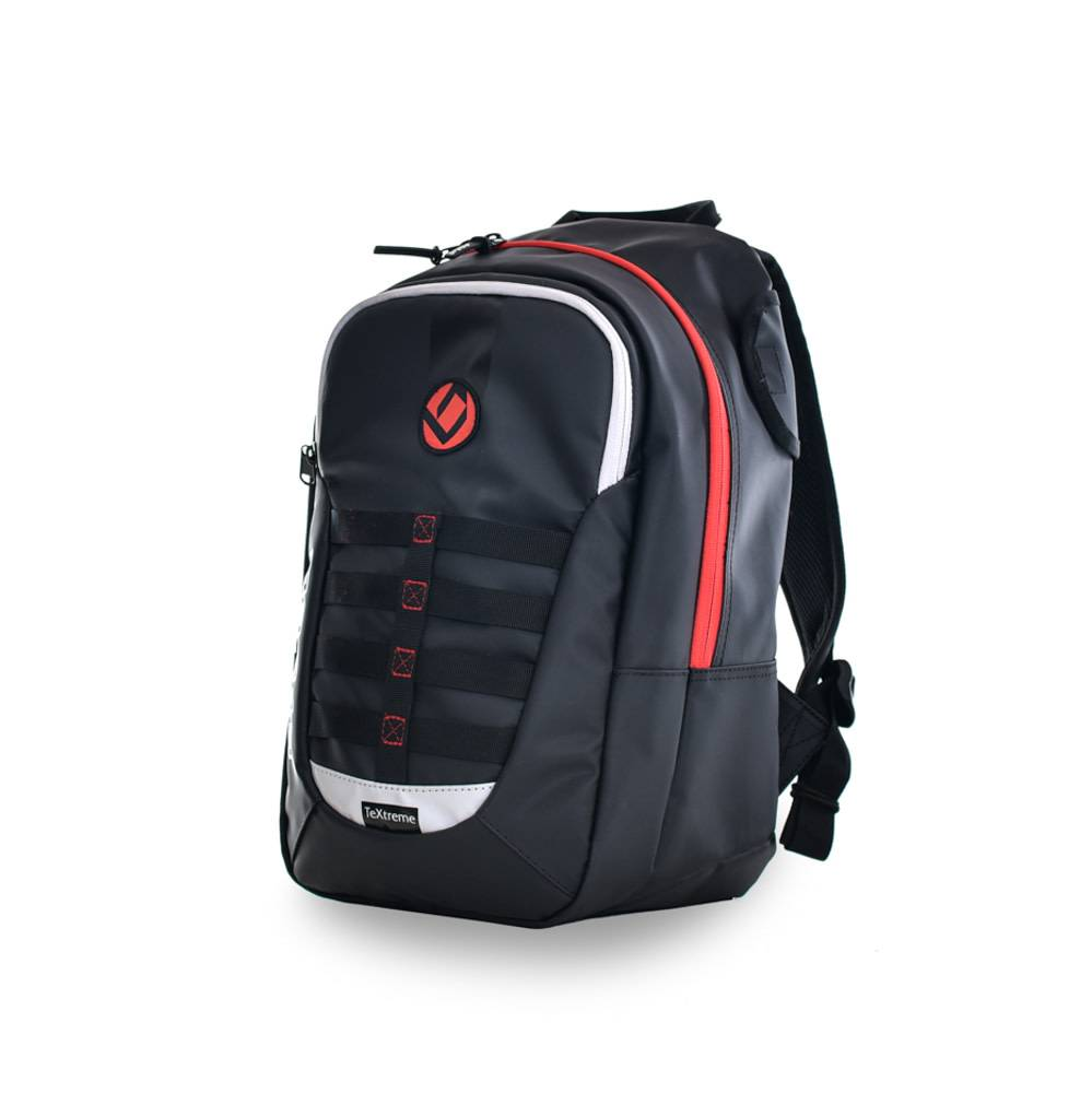 c59dc305b3d Brabo Backpack JR TeXtreme Black/Red, buy now! - Hockeypoint