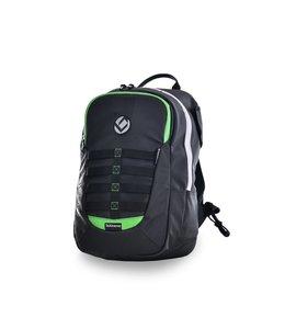 Brabo Backpack JR TeXtreme Zwart/Groen