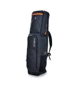 Brabo Stickbag Traditional Denim Schwarz/Orange