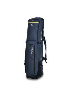 Brabo Stickbag Traditional Denim Blauw/Geel