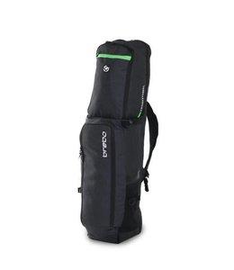 Brabo Stickbag Traditional Denim Zwart/Groen