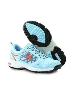Brabo Tribute Hockey Shoe Light Blue/Orange