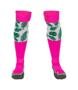 Reece Curtain Sokken Groen/Roze