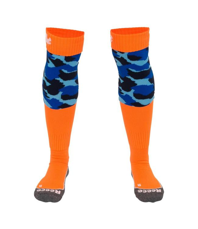 Reece Curtain Sokken Blauw/Oranje