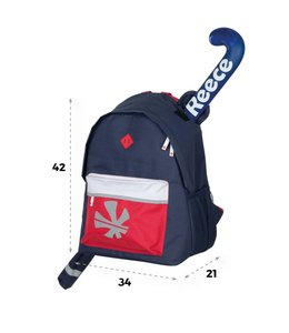 Reece Northam Backpack Navy/Rood