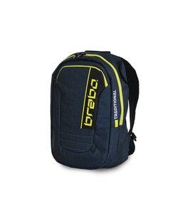 Brabo Backpack JR Traditional Denim Blauw/Geel