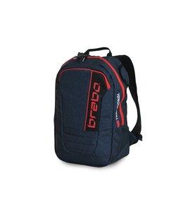 Brabo Backpack JR Traditional Denim Blue/Red