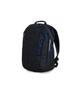 Brabo Backpack JR Traditional Denim Zwart/Blauw