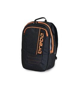 Brabo Backpack JR Traditional Denim Zwart/Oranje