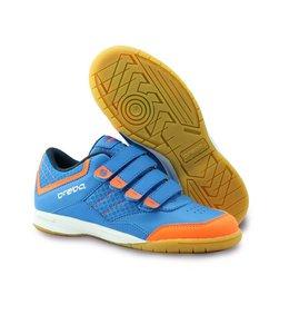 Brabo Indoor Hockeyschoen Blauw/Oranje