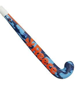 Reece IX65 Indoor Hockeystick Junior Blauw/Oranje