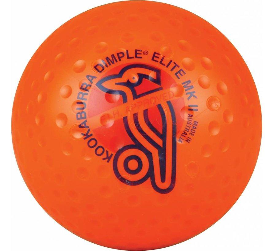 Dimple Elite Oranje Hockeybal