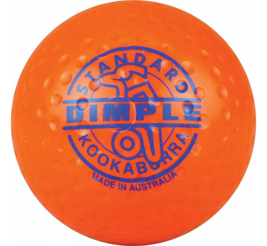 Dimple Standard Oranje Hockeybal