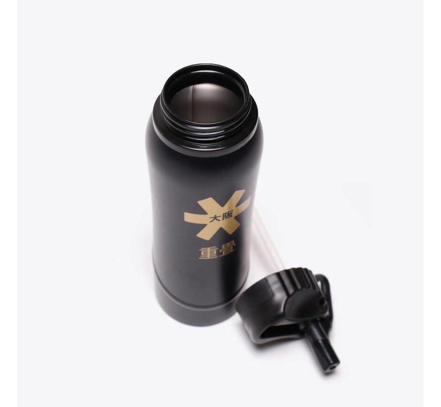 Kuro Aluminium Waterbottle 2.0 Schwarz/Bronze