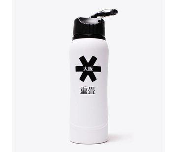 Osaka Metal Waterbottle 2.0 Wit/Zwart