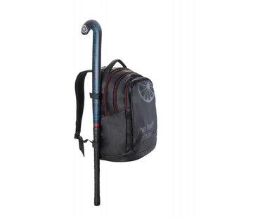Indian Maharadja Backpack Zwart/Rood