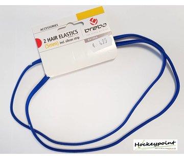 Brabo Haarband Blau Schmall (2 Stück)