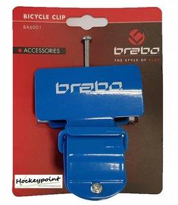 Brabo Fahrrad-Clip Blau