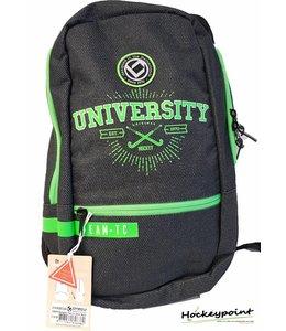 Brabo Backpack Team University Denim Zwart/Groen