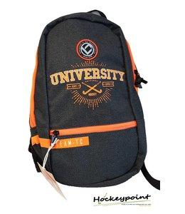 Brabo Backpack Team University Denim Zwart/Oranje