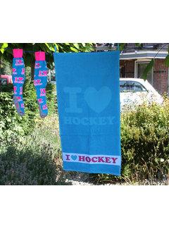 Hingly I love hockey Handtuch 100x50cm