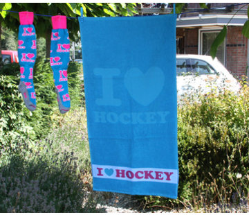 Hingly I love hockey towel 100x50cm