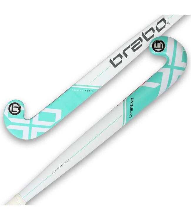 Brabo IT Heritage 40 Wit/Aqua