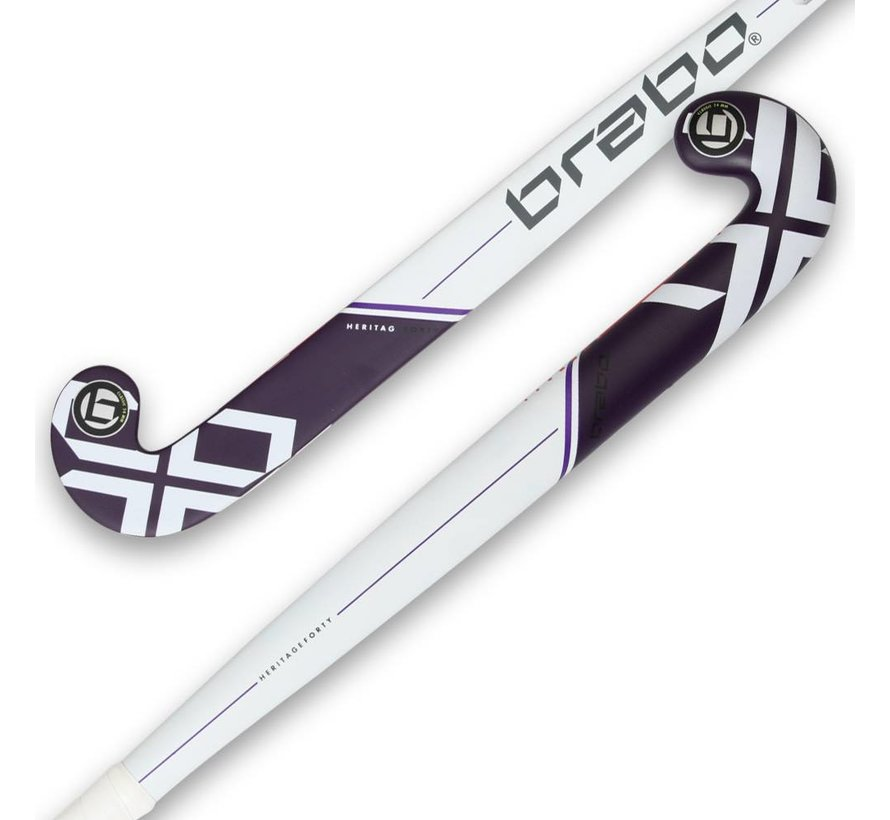 IT Heritage 40 White/Purple