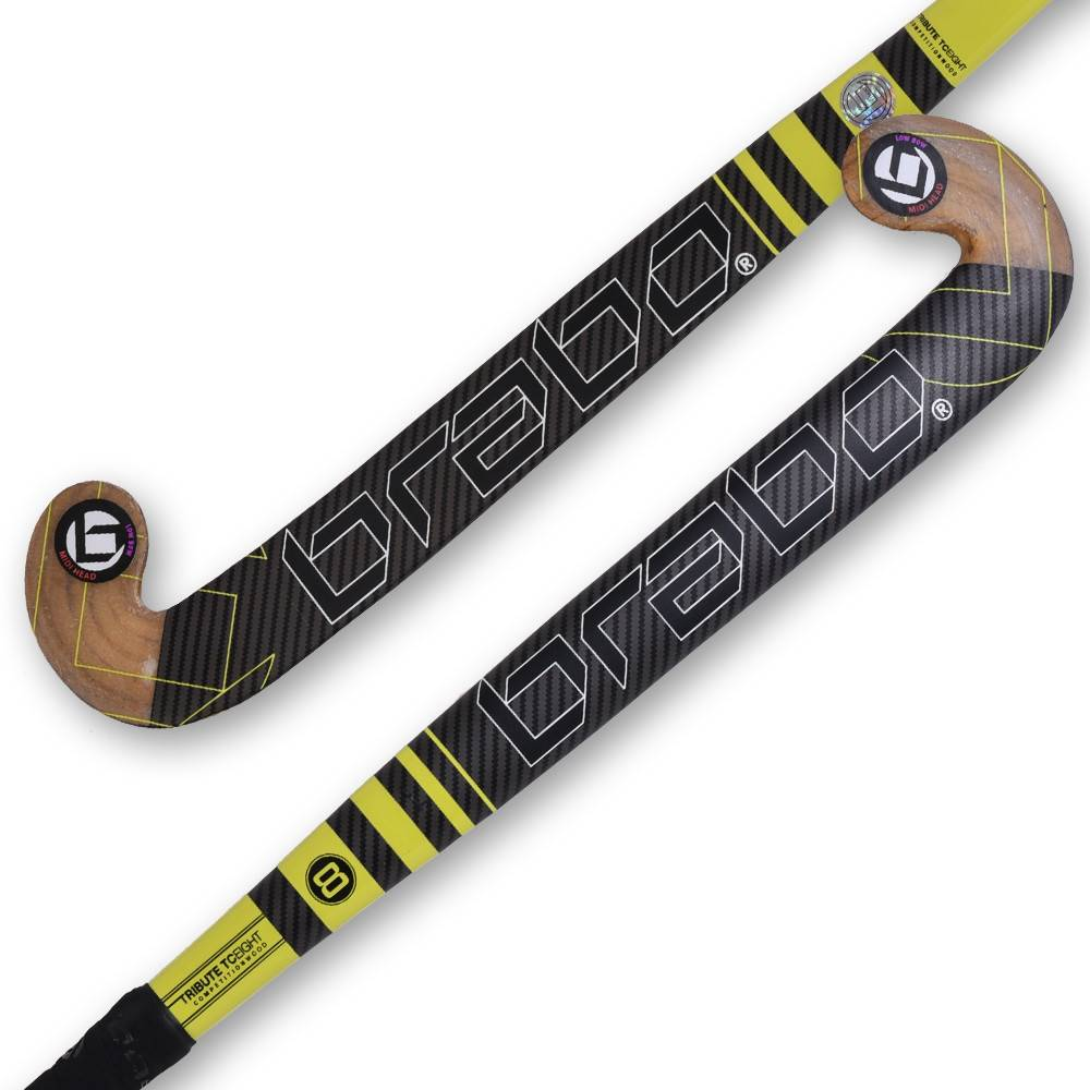 Brabo IT-8 Competition Wood Midi-H LB indoor hockeystick, order now!
