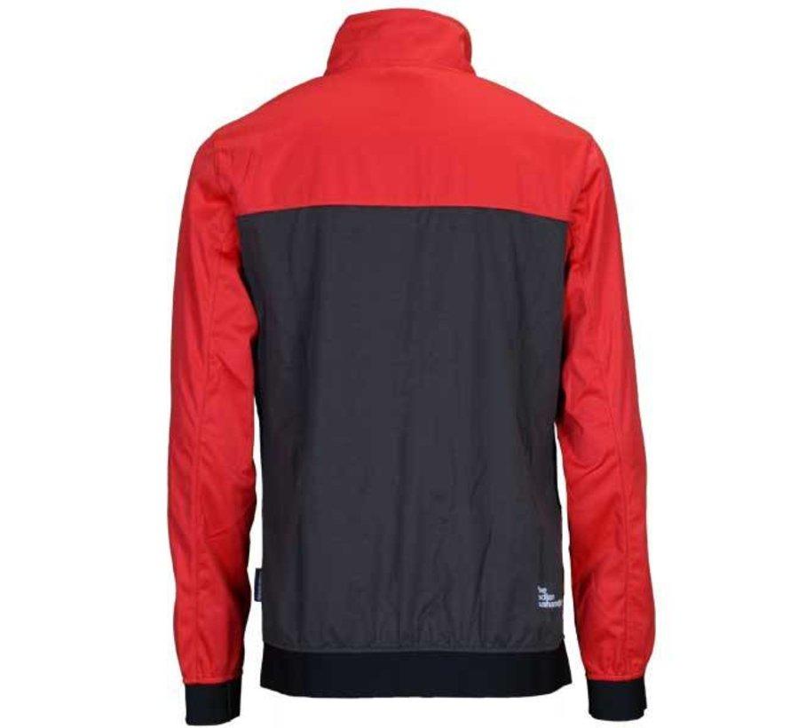 Herren Elite Jacket Rot/Anthrazit