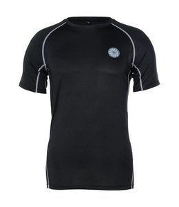 Indian Maharadja Herren First Layer Compression T-Shirt Schwarz