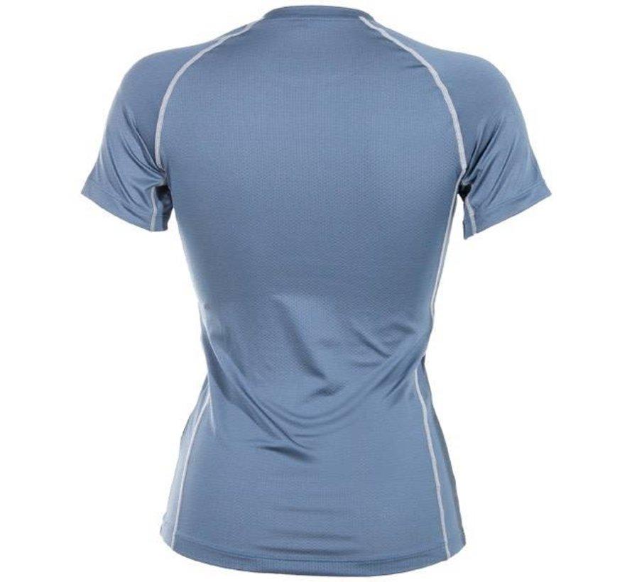 Damen First Layer Compression T-Shirt Steel