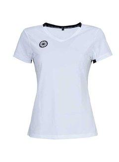 Indian Maharadja Girls Tech Shirt White