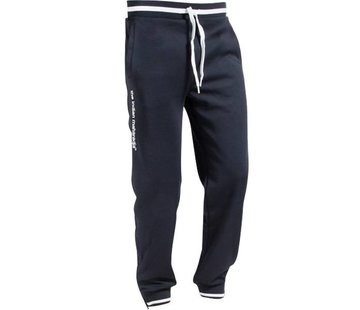 Indian Maharadja Men's Knitted Pants  Navy