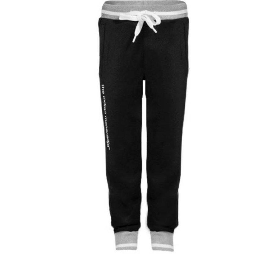 Kids Knitted Pants  Zwart/grijs