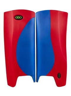 Obo Robo Hi-Rebound Legguards Blau/Rot
