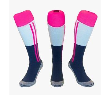 Hingly Blauw-Roze-Wit-2-Strepen
