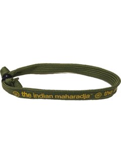 Indian Maharadja Armbandje – Geel/Groen