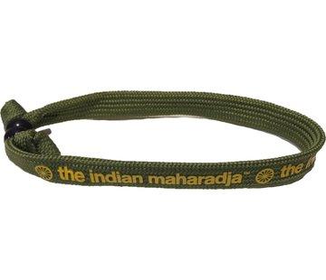 Indian Maharadja Armband Gelb / Grün