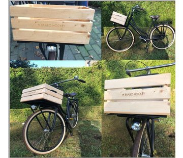 Brabo Wooden bicycle crate