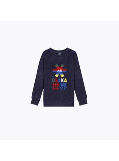 Osaka Deshi Throwback Nauthical Sweater Navy