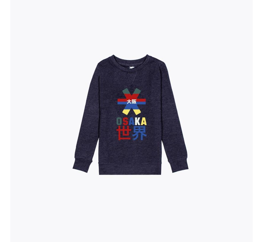 Deshi Throwback Nauthical Sweater Navy