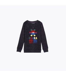 Osaka Deshi Throwback Nauthical Sweater Dunkelgrau