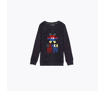Osaka Deshi Throwback Nauthical Sweater Dunkelgrau