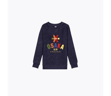Osaka Deshi Multi Sweater Navy