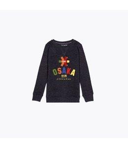 Osaka Deshi Multi Sweater Donkergrijs