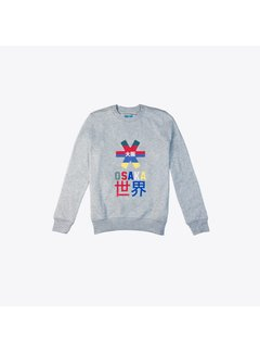 Osaka Deshi Throwback Nauthical Sweater Grau