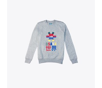 Osaka Deshi Throwback Nauthical Sweater Grau