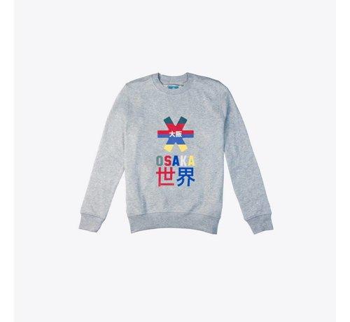 Osaka Deshi Throwback Nauthical Sweater Grijs